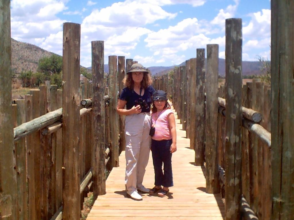 Robyn & Louise in Pilansberg National Park